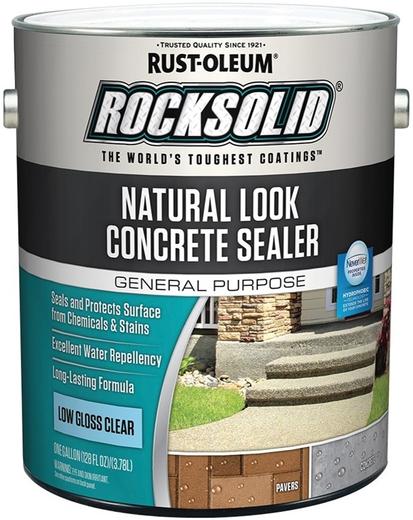 Rust-Oleum Concrete Stain Wet Look Concrete Sealer пропитка для бетона с эффектом мокрого камня (3.78 л) бесцветная