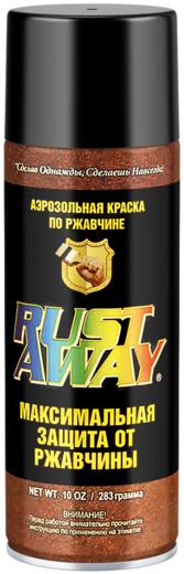 Краска Aervoe Rust away аэрозольная по ржавчине 284 мл красная