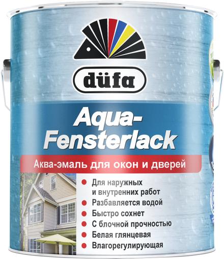 Dufa Aqua-Fensterlack аква-эмаль для окон