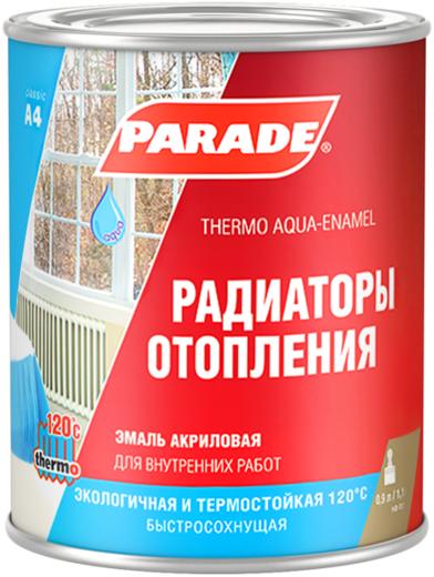 Parade A4 Радиаторы Отопления эмаль акриловая (2.7 л) супербелая