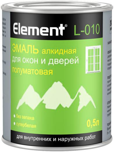 Alpa Element L-010 эмаль алкидная для окон и дверей для внутренних и наружных работ