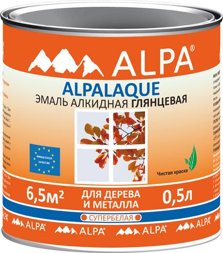 Alpa Alpalaque эмаль алкидная для дерева и металла