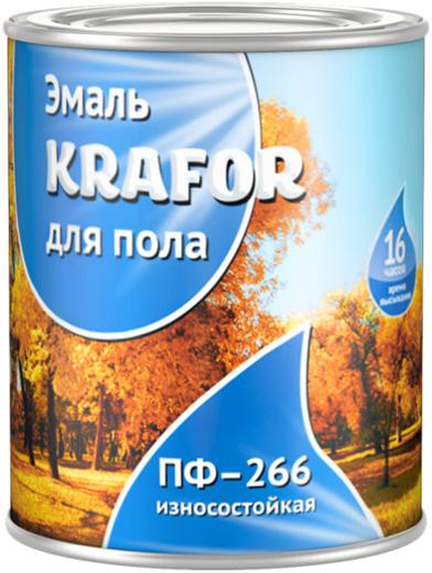 Krafor ПФ-266 эмаль для пола износостойкая