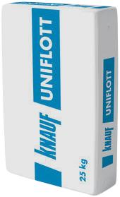 Кнауф Унифлот шпаклевка гипсовая высокопрочная (25 кг)