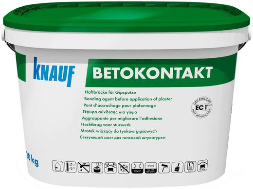 Кнауф Бетоконтакт грунтовка адгезионная (20 кг)