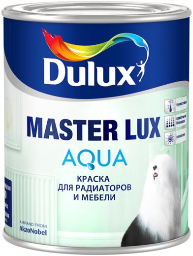 Dulux Master Lux Aqua краска для радиаторов и мебели