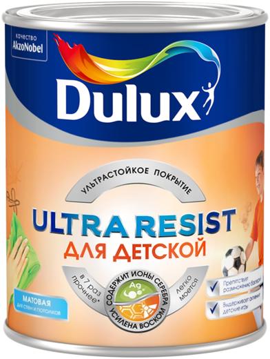 Dulux Ultra Resist для детской краска для стен и потолков