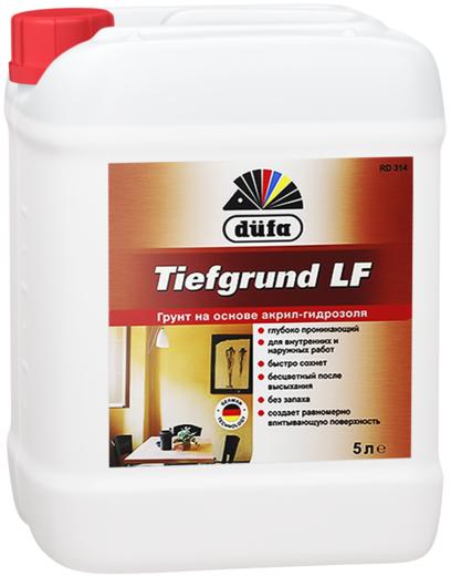 Грунт Dufa Tiefgrund lf rd314 на основе акрил-гидроизоля 10 л