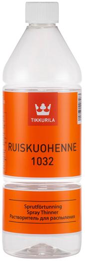Тиккурила Ruiskuohenne 1032 растворитель для распыления (1 л)