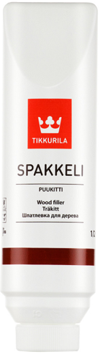 Шпатлевка Тиккурила Спаккели пуукитти для дерева 500 мл темная береза