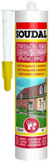 Soudal Строительство Ремонт нейтральный силикон