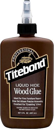 Titebond Liquid Hide Wood Glue клей для дерева протеиновый для музыкальных инструментов и мебели