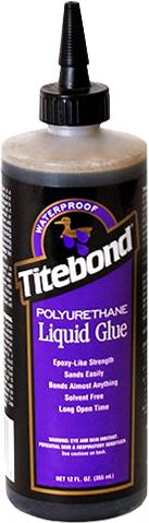 Titebond Polyurethane Liquid Glue полиуретановый клей для дерева для пористых и непористых материалов
