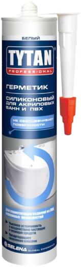Титан Professional Silicone for Acrylic Bathtubs and PVC герметик силиконовый для акриловых ванн и ПВХ