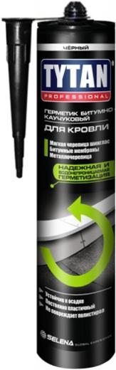 Титан Professional герметик битумно-каучуковый для кровли (310 мл) черный
