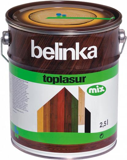 Белинка Toplasur Mix декоративное лазурное покрытие (10 л)