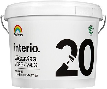 Beckers Beckerplast 20 краска для стен и потолков (9 л) белая