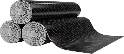 Звукоизол битумно-полимерный звукоизоляционный прокладочный материал (1*15 м 1.6 кг/м2)