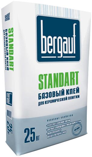 Bergauf Standart базовый клей для керамической плитки (25 кг)