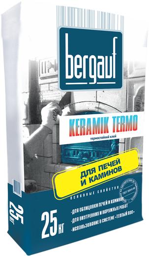 Bergauf Keramik Termo термостойкий клей для печей и каминов (25 кг)