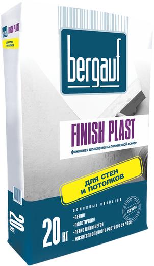Bergauf Finish Plast финишная шпаклевка на полимерной основе для стен и потолков