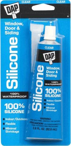 DAP Window Silicone герметик для окон, дверей, сайдинга (82.8 мл) белый