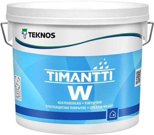 Текнос Timantti W влагозащитное покрытие (10 л)