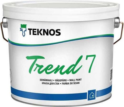 Текнос Trend 7 краска для стен (2.7 л) белая