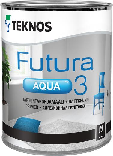 Грунтовка Текнос Futura aqua 3 адгезионная 900 мл
