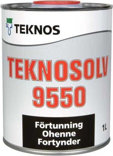 Текнос Teknosolv 9550 разбавитель для краски Kirjo (1 л)
