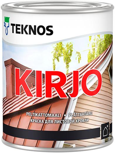 Текнос Kirjo краска для листовой кровли