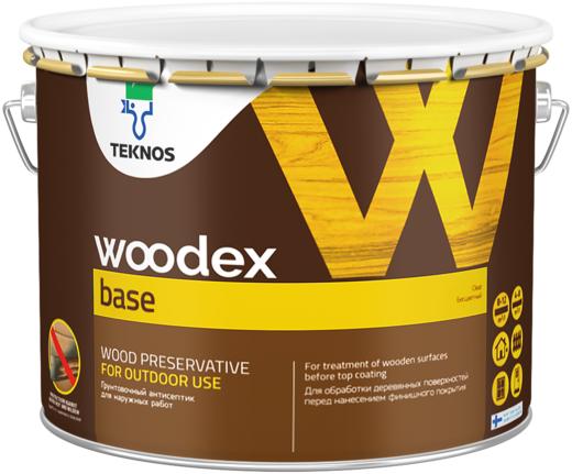 Текнос Woodex Base грунтовочный антисептик (1 л) бесцветный