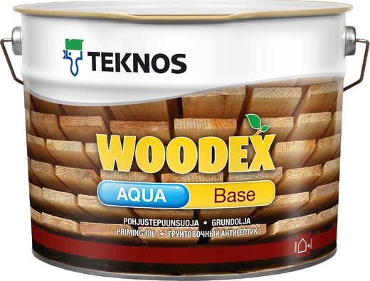 Антисептик Текнос Woodex aqua base грунтовочный 10 л