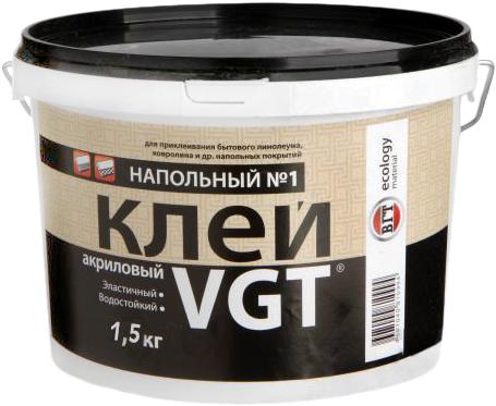 ВГТ Напольный №1 Эконом клей акриловый (1.5 кг)
