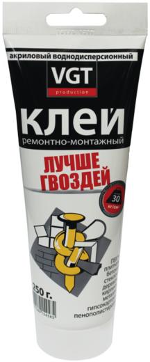 ВГТ Лучше Гвоздей клей акриловый ремонтно-монтажный прозрачный (300 г)