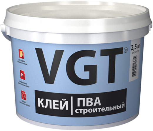 ВГТ ПВА Строительный клей (10 кг)