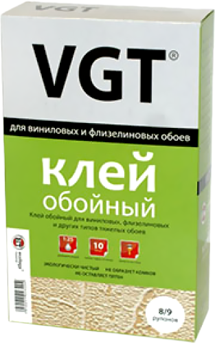 ВГТ клей обойный для виниловых и флизелиновых обоев (200 г)