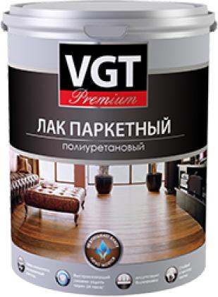 ВГТ Premium лак паркетный полиуретановый (9 кг) глянцевый
