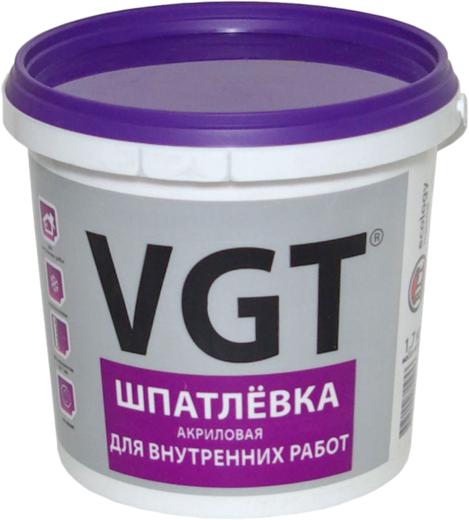 ВГТ шпатлевка акриловая для внутренних работ (18 кг)