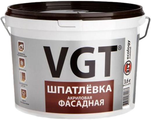 ВГТ шпатлевка акриловая фасадная (3.6 кг)