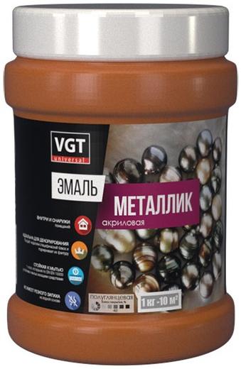 ВГТ ВД-АК-1179 эмаль металлик акриловая универсальная (1 кг) гранат металлик