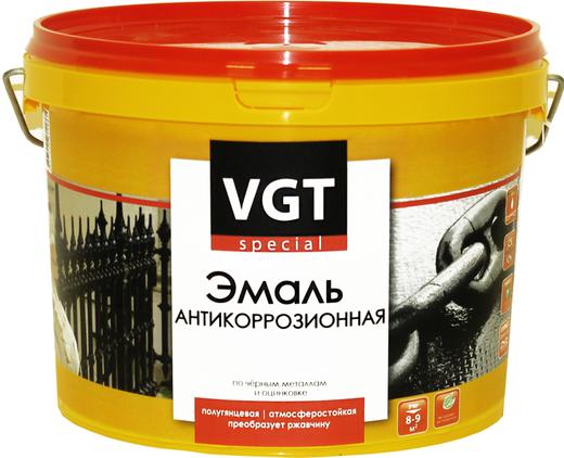 ВГТ Premium ВД-АК-1179 Прямо по Ржавчине эмаль антикоррозионная по металлу (1 кг) бордовая