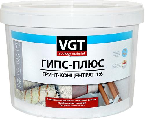 ВГТ ВД-АК-0301 Гипс-плюс грунт-концентрат акриловый