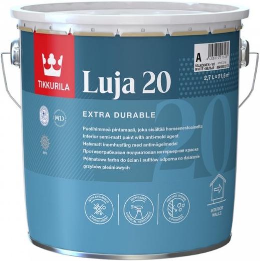 Тиккурила Луя 20 экстремально стойкая краска покрывная полуматовая