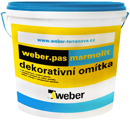 Вебер.Pas Marmolit декоративная мозаичная штукатурка (25 кг) K18