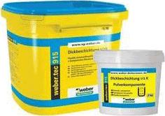 Вебер.Tec 915 K2 цементный компонент для ускорения связывания покрытия (2 кг)
