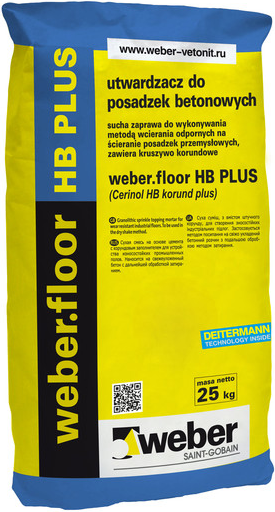 Вебер.Floor HB Plus упрочнитель бетонных полов