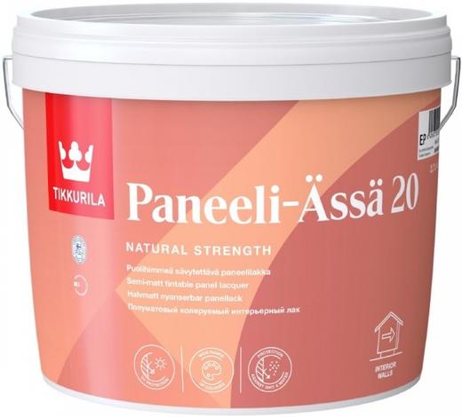 Тиккурила Панели-Ясся 20 интерьерный лак для деревянных панелей полуматовый