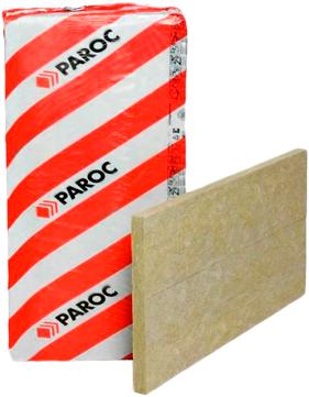 Paroc WAS 50 полужесткая негорючая плита из каменной ваты