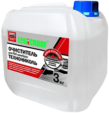 Технониколь Logicroof очиститель для ПВХ мембран (3 кг)